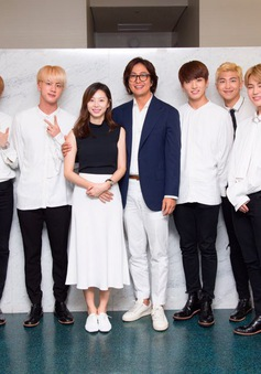 Bae Yong Joon đưa vợ bầu đi xem ca nhạc