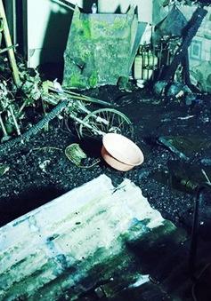 Hiện trường tan hoang vụ cháy nhà làm 6 người thiệt mạng tại Cà Mau