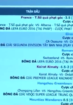 Cá độ bóng đá mùa EURO: Càng về cuối càng lớn