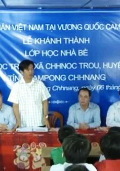 Khánh thành trường tiểu học cho con em Việt kiều tại Campuchia