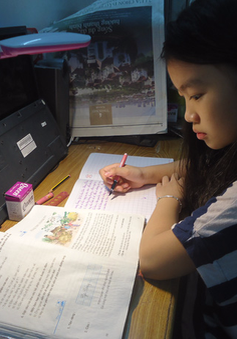 Cấm giao bài tập về nhà: Học sinh vẫn học tới khuya