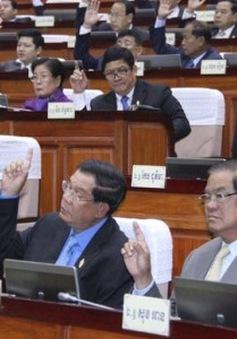 Quốc hội Campuchia thông qua đề nghị cải tổ nội các