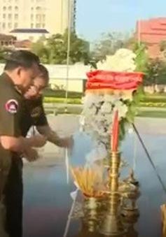 Quân đội Hoàng gia Campuchia ghi ơn quân tình nguyện Việt Nam