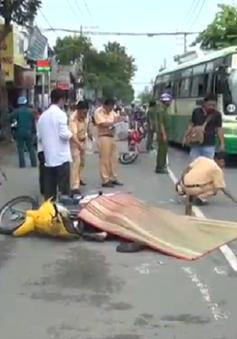 TP.HCM: Xe cứu thương cán chết người đi xe máy