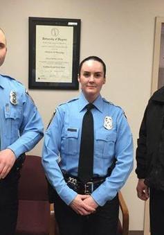 Nữ cảnh sát Mỹ bị bắn chết trong ngày đầu đi làm