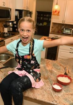 Cô bé 10 tuổi được đến thăm Nhà Trắng nhờ công thức nấu ăn tuyệt hảo