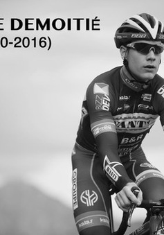 VĐV xe đạp người Bỉ tử nạn vì bị mô tô đâm trên đường đua