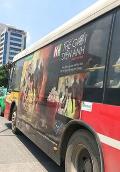 TP.HCM đề xuất cho quảng cáo trên xe bus