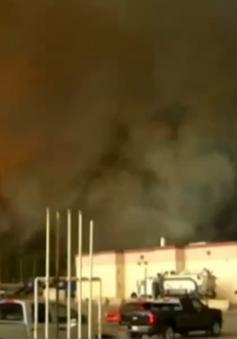 Giá dầu Mỹ giảm mạnh sau tác động vụ cháy rừng tại Canada