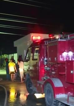 Cà Mau: Cháy công ty sản xuất than, thiệt hại hơn 1 tỷ đồng