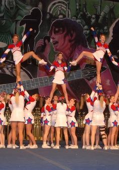 Cheerleading có thể trở thành môn thể thao Olympic