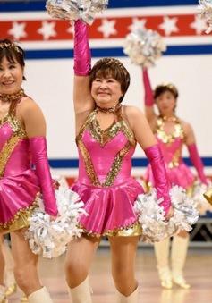 Đội cổ vũ hoạt náo viên cao tuổi tại Nhật Bản