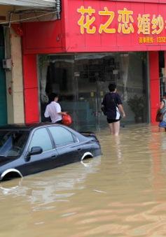 Trung Quốc báo động cao trước tình hình lũ lụt