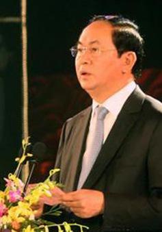 Chủ tịch nước dự Ngày văn hóa các dân tộc Việt Nam