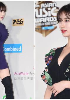 Thảm đỏ MAMA 2016: Suzy khéo léo khoe ngực đầy, Taeyeon (SNSD) lộ chân ngắn