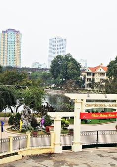 Công an Quận Ba Đình phản hồi về tình trạng lấn chiếm công viên Thành Công