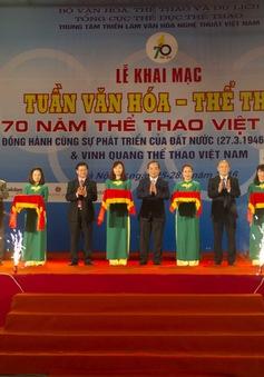 Triển lãm ảnh 70 năm thể thao Việt Nam