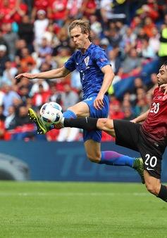 VIDEO EURO 2016: Tổng hợp diễn biến Thổ Nhĩ Kỳ 0-1 Croatia (Bảng D)
