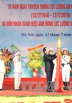 Kỷ niệm 70 năm lực lượng An ninh nhân dân