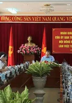 Đồng chí Nguyễn Thiện Nhân kiểm tra công tác chuẩn bị bầu cử tại Đồng Nai