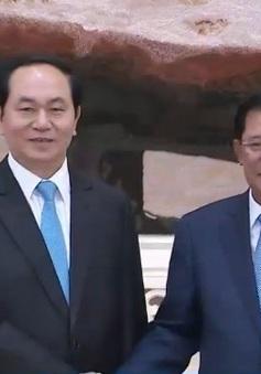 Chủ tịch nước cuộc hội kiến Thủ tướng Campuchia
