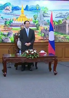 Chủ tịch nước thăm tỉnh Champasak