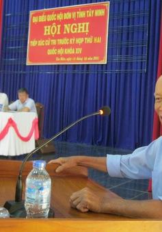 Cử tri Tây Ninh kiến nghị chuyển đổi công năng Khu kinh tế Cửa khẩu quốc tế Mộc Bài