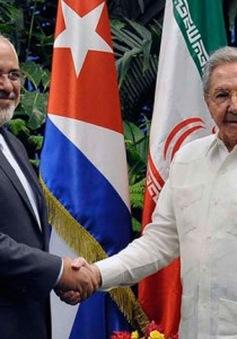 Ngoại trưởng Iran thăm Cuba