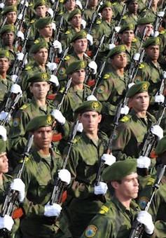 Cuba tập trận trên quy mô toàn quốc
