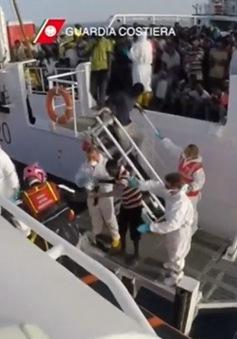 Hơn 3.000 người di cư được giải cứu trên Địa Trung Hải