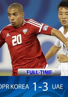 Đại thắng CHDCND Triều Tiên, U19 UAE vẫn phải nhìn U19 Việt Nam vào tứ kết