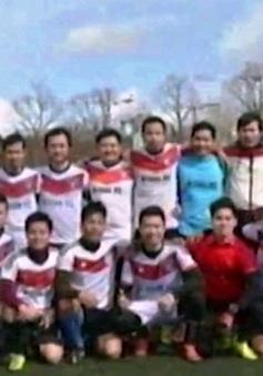 Giải bóng đá du học sinh Việt tại Pháp kết nối tình bạn xa xứ