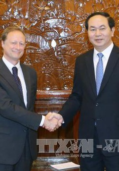 Chủ tịch nước tiếp Đại sứ, Trưởng Phái đoàn EU tại Việt Nam