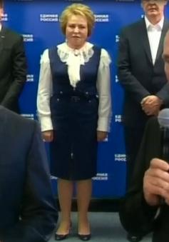 Đảng Nước Nga Thống nhất tiếp tục giữ vị trí đa số lập hiến tại Duma