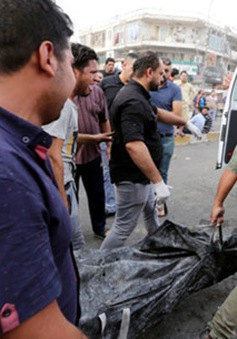 Iraq tuyên bố 3 ngày quốc tang sau vụ đánh bom đẫm máu ở Baghdad
