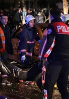 Thổ Nhĩ Kỳ bắt giữ nghi can vụ đánh bom ở Ankara