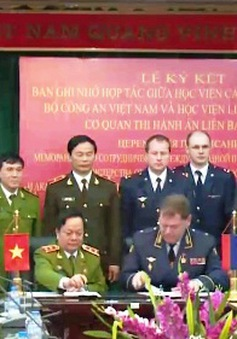 Việt Nam - LB Nga hợp tác đào tạo thi hành án hình sự