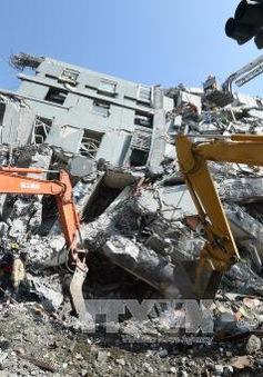 Động đất ở Đài Loan: Tìm thấy 2 người sống sót trong đống đổ nát