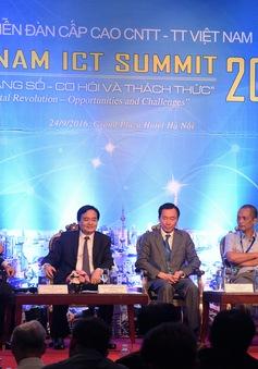 Diễn đàn Cấp cao CNTT-TT Việt Nam 2016: Cần thay đổi tư duy quản trị phù hợp với xu hướng cách mạng công nghiệp lần thứ 4