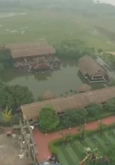 Tràn lan tình trạng vi phạm hành lang đê điều tại Hà Nội