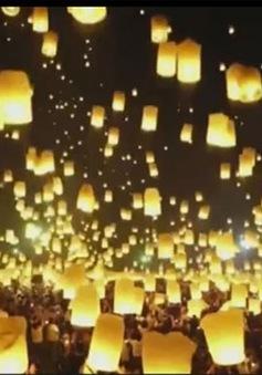 Lung linh lễ hội hoa đăng Thái Lan