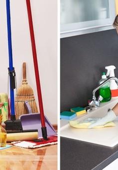 10 lỗi thường mắc phải khi dọn dẹp nhà cửa