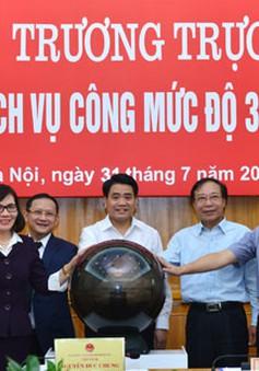 Hà Nội khai trương hệ thống dịch vụ công mức độ 3 cấp phường