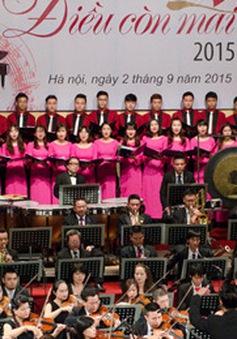 Hòa nhạc Điều còn mãi 2016 tôn vinh những tác phẩm kinh điển