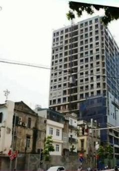 Bí thư quận Ba Đình, Hà Nội cam kết tháo dỡ tầng 19 nhà 8B Lê Trực trong 45 ngày