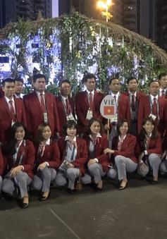 VĐV Đoàn Thể thao Việt Nam háo hức trước giờ Olympic Rio 2016 khai mạc