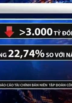 Lợi nhuận TKV sụt giảm mạnh