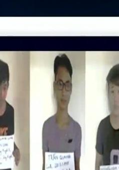 """Bắt nhóm lừa đảo qua 5 tỷ đồng qua trang web """"trúng thưởng"""""""