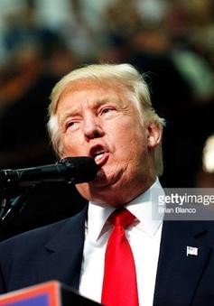 Ứng viên Donald Trump chỉ trích truyền thông