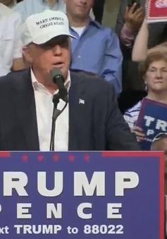 Ứng viên Donald Trump kêu gọi sự ủng hộ của người Mỹ da màu